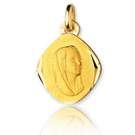 Médaille vierge  Or Jaune  Marya