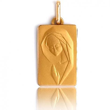 Médaille vierge  Or Jaune  Ocella