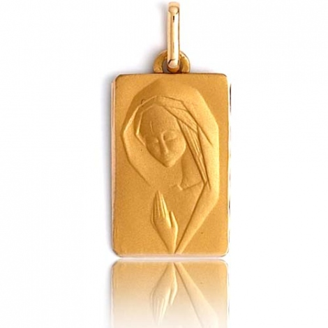 Médaille vierge  Or Jaune  Ocella -XR3313