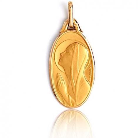 Médaille vierge  Or Jaune  Rachel -XR3285
