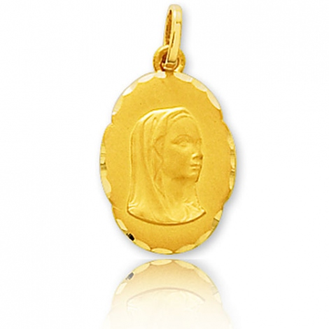 Médaille vierge  Or Jaune  Selena -9K20721