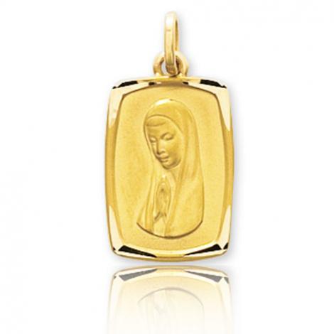 Médaille vierge  Or Jaune  Ysaline