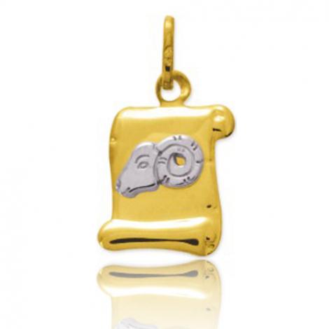 Médaille Zodiac Bélier 2 Ors Luna