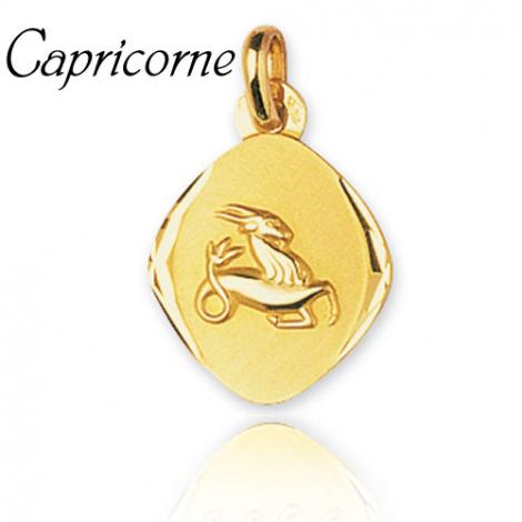 Médaille Zodiac Capricorne Or Jaune Gaelle