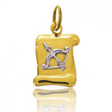 Médaille Zodiac Sagittaire 2 Ors Halia