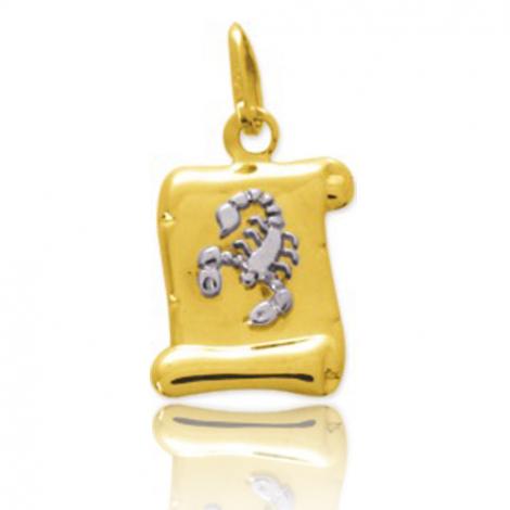 Médaille Zodiac Scorpion 2 Ors Adrienne