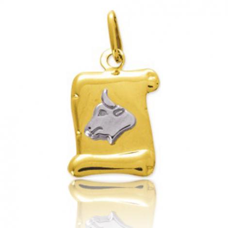 Médaille Zodiac Taureau 2 Ors Alexane