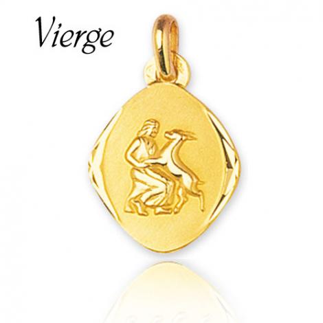Médaille Zodiac Vierge Or Jaune Shanna