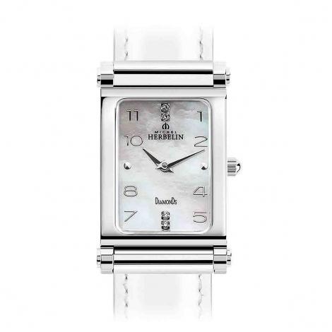 Montre Antares Personalisable- Boîtier Steel Edition - Diamants