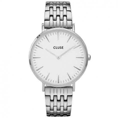 Montre Cluse  La Bohème Multi-Link Silver White/Silver -  - CW0101201023.
