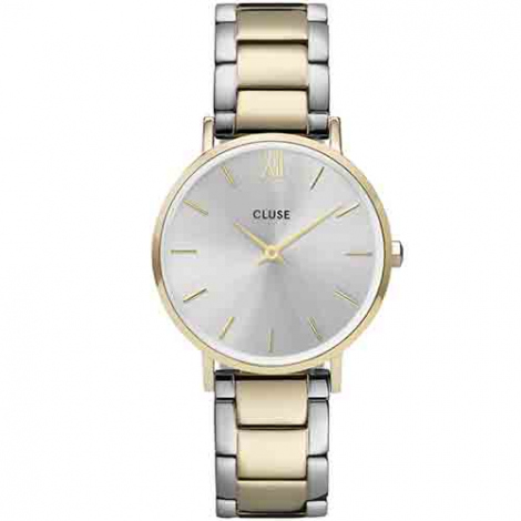 Montre Cluse Minuit 3-Link Gold Silver/Gold/Silver -  - CW0101203028