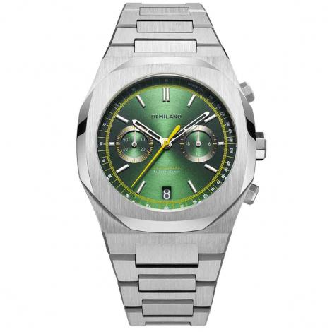 Montre D1 Milano Chronograph Noble CHBJ10- Homme  - cadran Vert-  -
