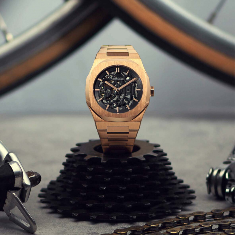 Montre D1 Milano Skeleton