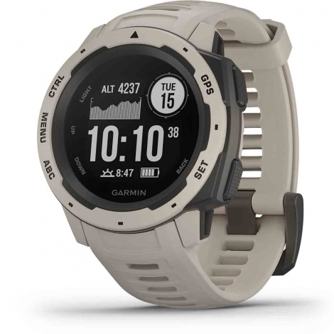 Montre Garmin Instinct Grise Tundra 45 mm- 010-02064-01