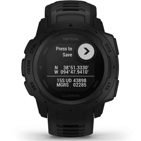 Montre Garmin Instinct Tactical Noire