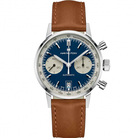 Montre Hamilton American Classic Intra Matic Auto Chrono 40 mm- H38416541