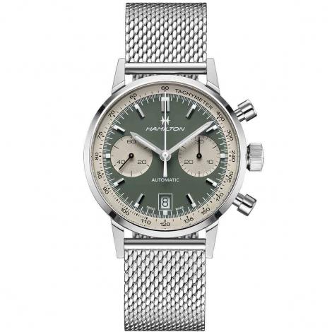 Montre Hamilton American Classic Intra-Matic Chronograph 40 mm- H38416160