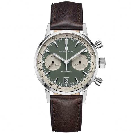 Montre Hamilton American Classic Intra-Matic Chronograph 40 mm- H38416560