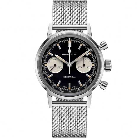 Montre Hamilton American Classic Intra-Matic Chronograph 40 mm- H38429130
