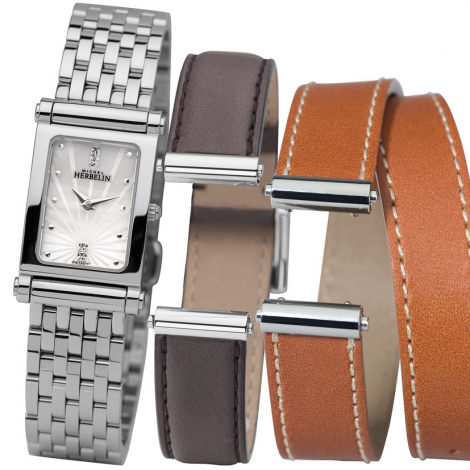 Montre Herbelin Antares - bracelet Acier inoxydable - COF.17048/B59SG