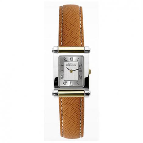 Montre Herbelin Antares - bracelet Cuir - 17049/T01MA