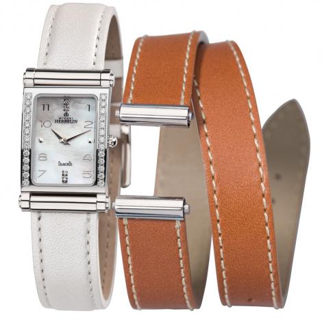 Montre Herbelin Antares - bracelet Cuir - COF.17048/26Y89WGL