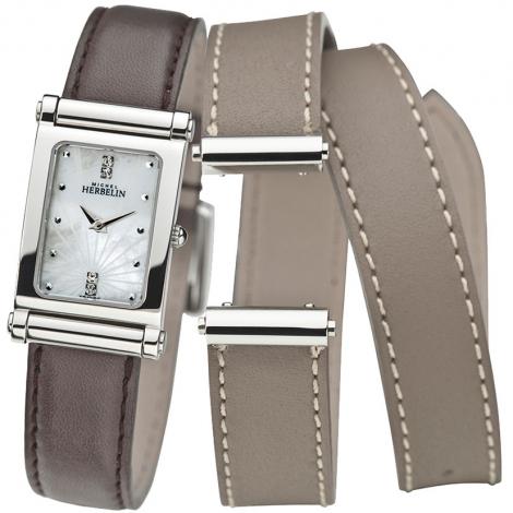 Montre Herbelin Antares - bracelet Cuir - COF.17048/59LT