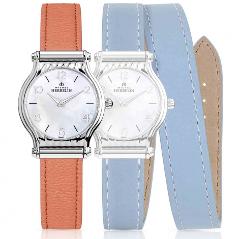 Montre Herbelin Antares - bracelet Cuir - COF.17447-29OBL