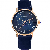 Montre Herbelin Inspiration  Quartz Cadran Bleu Bracelet Cuir - 12747/PR15BL