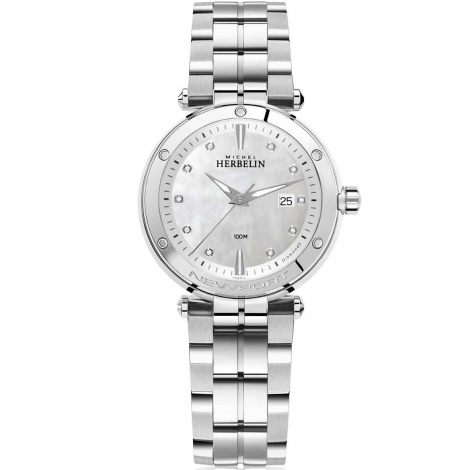 Montre Herbelin Newport Femme Quartz Diamants - 14288/B89