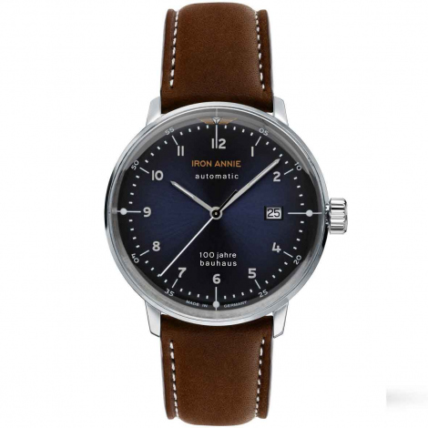 Montre Iron Annie Bauhaus  Automatique Cadran Bleu - 5056-3