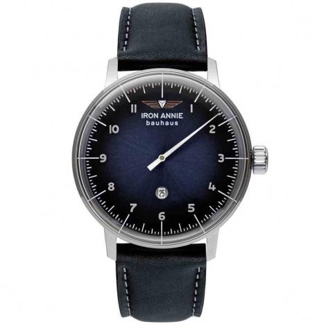 Montre Iron Annie Bauhaus Monotimer Quartz Cadran Bleu - 5042-3
