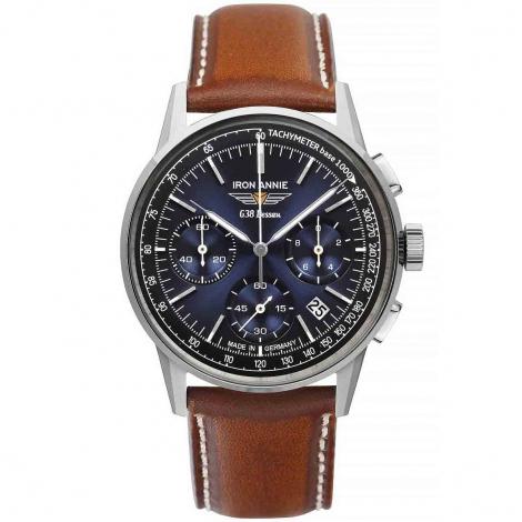 Montre iron Annie Chronograph Quartz Cadran Bleu - 5376-3