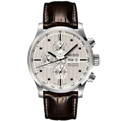 Montre Mido Multifort Chronograph 44 mm- M005.614.16.031.00
