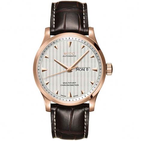Montre Mido Multifort Chronometer 42 mm- M005.431.36.031.00