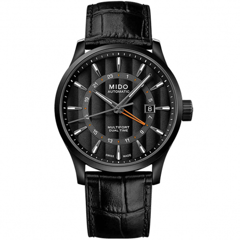 Montre Mido Multifort Dual Time 42 mm- M038.429.36.051.00