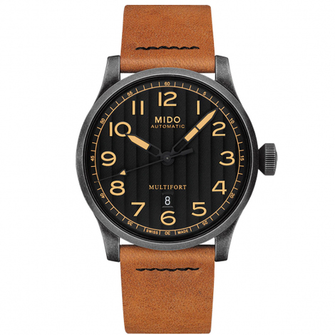 Montre Mido Multifort Escape Horween Special Edition 44 mm- M032.607.36.050.99