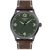 Montre Tissot Gent XL Quartz Cadran Vert Bracelet Cuir - T116.410.36.097.00