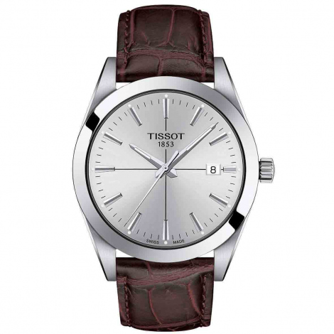 Montre Tissot Gentleman Quartz Cadran Gris- 40 mm - T127.410.16.031.01