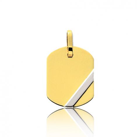 Pendentif 2 Ors 1.55 g  Emmanuelle - 9KT3.3G