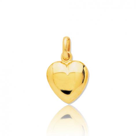 Pendentif cœur or jaune