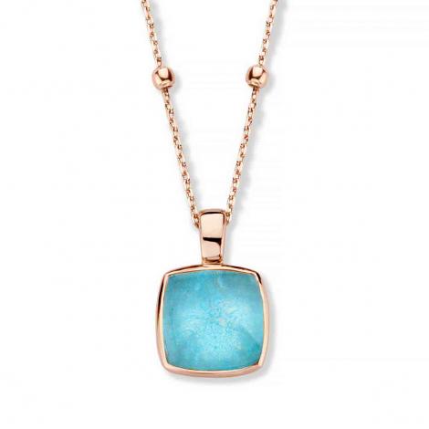 Pendentif Cristal de Roche sur Amazonite  - One More  - Pantelleria - 052797Y2