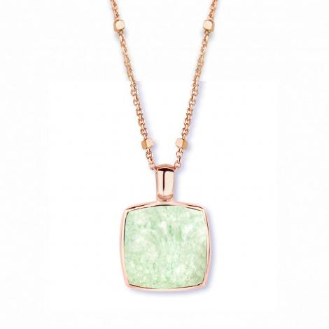 Pendentif cristal de roche sur quartz verte One More  - Pantelleria - 051403Y3
