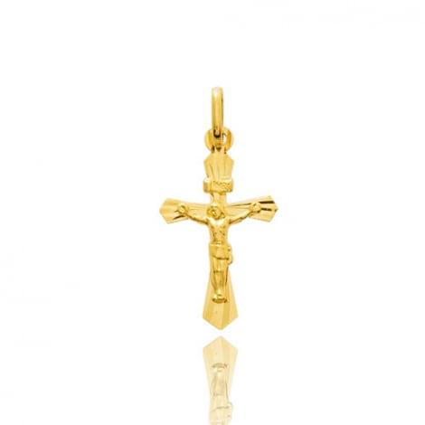 Pendentif croix Christ  Or Jaune Laïsa
