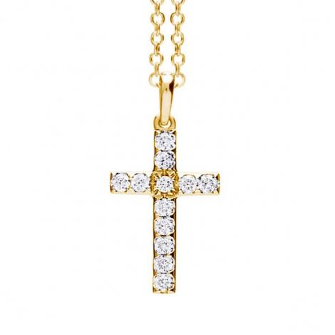 Pendentif croix diamants One More  - Ischia - 052465A