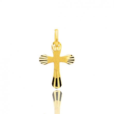 Pendentif croix Or Jaune Alexane
