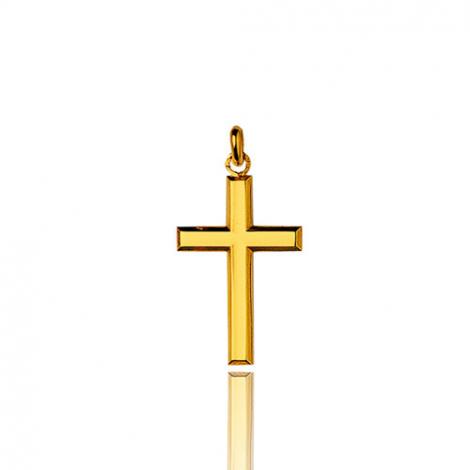 Pendentif Croix Or Jaune Alizée