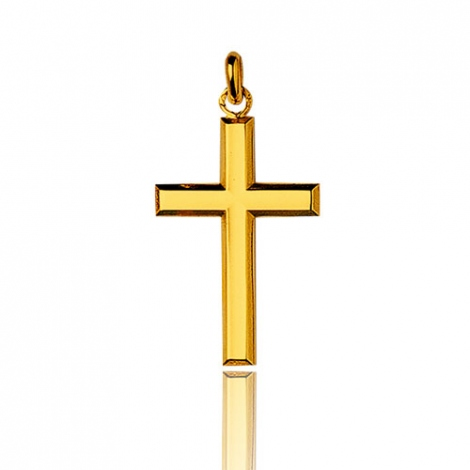 Pendentif croix Or Jaune Amélia