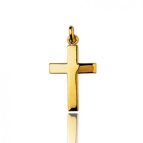 Pendentif Croix Or Jaune Clémentine