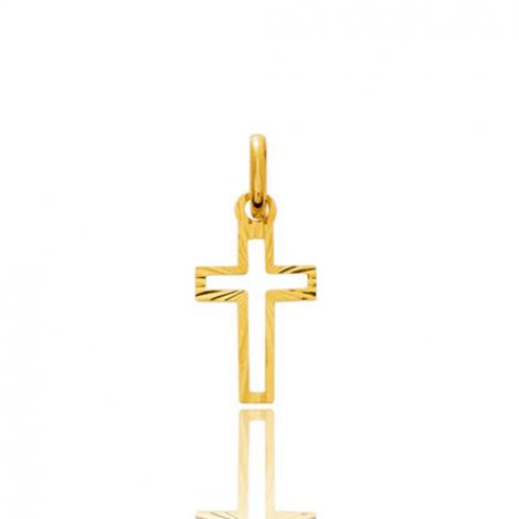 Pendentif croix Or Jaune Cristina